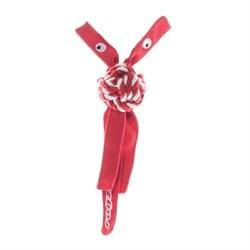 Rogz - Канатная игрушка с пищалкой, средняя (красный) COWBOYZ ROPE TOY - фото 7164