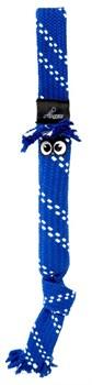 Rogz - Игрушка веревочная шуршащая, большая (синий) SCRUBZ ROPE TUG TOY - фото 7189
