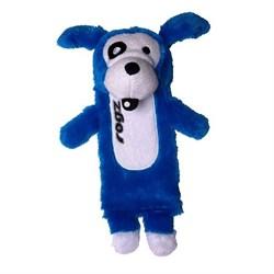 Rogz - Мягкая игрушка с карманом для пластиковой бутылки, средняя (синий) THINZ MEDIUM PLUSH TOY - фото 7231
