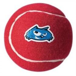 Rogz - Игрушка теннисный мяч, малый (красный) TENNISBALL SMALL - фото 7237