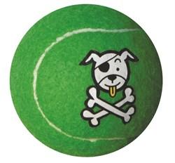 Rogz - Игрушка теннисный мяч, малый (лайм) TENNISBALL SMALL - фото 7238