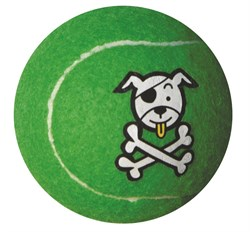 Rogz - Игрушка теннисный мяч, большой (лайм) TENNISBALL LARGE - фото 7248