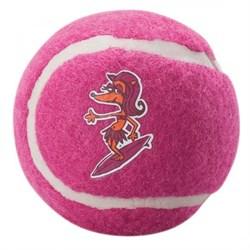 Rogz - Игрушка теннисный мяч, большой (розовый) TENNISBALL LARGE - фото 7250
