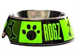 """Rogz - Миска 2 в 1 """"Лаймовый сок"""", 700 мл BOWLZ 2 IN 1 LIME JUICE - фото 7307"""