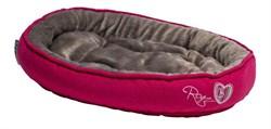 """Rogz - Лежак с мягкой подушкой """"Розовые леденцы"""", малый (40х32х8см) SNUG PODZ - фото 7379"""