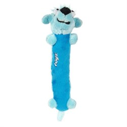 Rogz - Мягкая игрушка для щенков с пищалкой Clones Sausage, средняя (голубой) PLUSH TOY MEDIUM - фото 7445