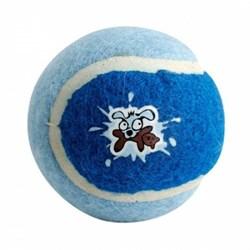Rogz - Игрушка для щенков теннисный мяч, малый (голубой) TENNISBALL SMALL - фото 7451