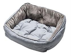 """Rogz - Мягкий лежак с двусторонней подушкой """"Серая косточка"""", размер M (56х43х29см) LUNA PODZ MEDIUM - фото 7576"""