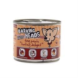 """Barking Heads - Консервы для собак мелких пород """"Бесподобная индейка"""" (с индейкой) Tiny Paws Turkey Delight - фото 7648"""