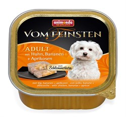 """Animonda - Консервы для собак """"Меню для гурманов"""" (с курицей, бананом и абрикосами) Vom Feinsten Adult - фото 7674"""
