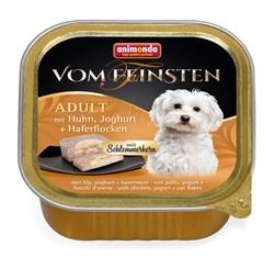 """Animonda - Консервы для собак """"Меню для гурманов"""" (с курицей, йогуртом и овсяными хлопьями) Vom Feinsten Adult - фото 7676"""