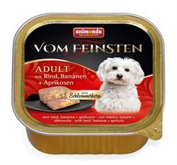 """Animonda - Консервы для собак """"Меню для гурманов"""" (с говядиной, бананом и абрикосами) Vom Feinsten Adult - фото 7678"""