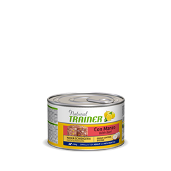 Trainer - Консервы для взрослых собак мелких пород (с говядиной, рисом и женьшенем) Natural Mini Adult Beef, Rice and Ginseng - фото 7693
