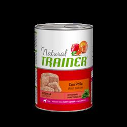 Trainer - Консервы для щенков и юниоров средних и крупных пород Natural Medium Puppy and Junior - фото 7695