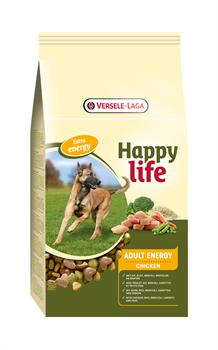 Happy Life (Versele-Laga) - Сухой корм для активных собак (с курицей) Adult Chicken Energy - фото 7703