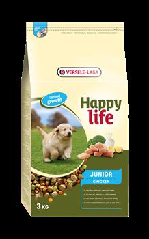 Happy Life (Versele-Laga) - Сухой корм для щенков (с курицей) Junior Chicken - фото 7710