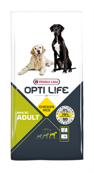 Opti Life (Versele-Laga) - Сухой корм для собак крупных пород (с курицей и рисом) Adult Maxi - фото 7718