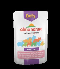"Almo Nature - Паучи для кошек ""Меню с Тунцом и Лососем"" Daily Menu Cat Tuna and Salmon - фото 7827"