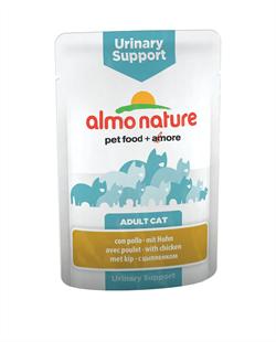 Almo Nature - Паучи для профилактики мочекаменной болезни у кошек (с курицей) Functional Urinary Support with Chicken - фото 7840