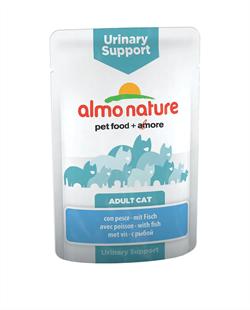 Almo Nature - Паучи для профилактики мочекаменной болезни у кошек (с рыбой) Functional Urinary Support with Fish - фото 7842