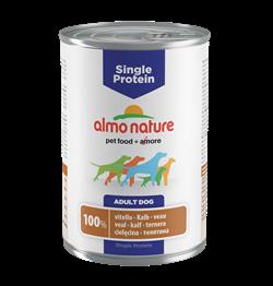 Almo Nature - Консервы для собак с чувствительным пищеварением (с Телятиной) Single Protein Veal - фото 7876