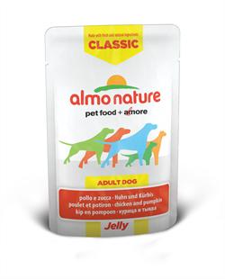 "Almo Nature - Паучи для собак ""Курица и Тыква в желе"" Classic Jelly Chicken and Pumpkin - фото 7889"
