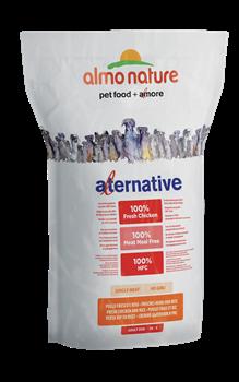 Almo Nature Alternative - Сухой корм для собак карликовых и мелких пород (со свежим цыпленком и рисом) 50 % мяса Alternative Fresh Chicken and Rice - фото 7899