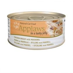 "Applaws - Консервы для кошек ""Кусочки в желе"" (с курицей и скумбрией) Jelly Chicken and Mackerel - фото 7991"