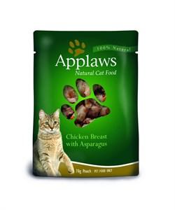 Applaws - Паучи для кошек (с курицей и спаржей) Cat Pouch Chicken and Asparagus - фото 7996