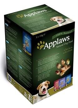 "Applaws - Набор для собак ""Куриное ассорти"" (5 шт*150 г) Dog MP Pouch Chicken - фото 8023"