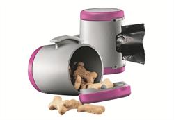 Flexi - Коробка для лакомств или одноразовых пакетов (розовая) Vario Multi Box pink - фото 8042
