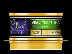Clan De File - Консервы для щенков (телятина) № 55 - фото 8319