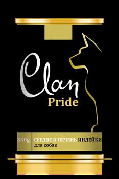Clan Pride - Консервы для собак (сердце и печень индейки) № 95 - фото 8322