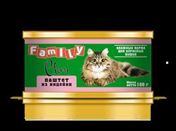 Clan  Family - Консервы для кошек (паштет из индейки) №21 - фото 8330