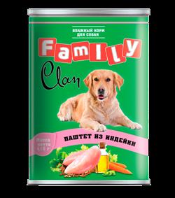 Clan Family - Консервы для собак (паштет из индейки) №44 - фото 8338