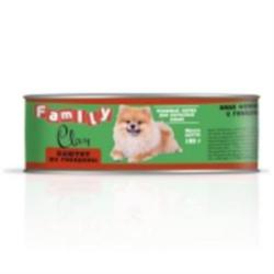 Clan Family - Консервы для собак (паштет из говядины) №49 - фото 8339