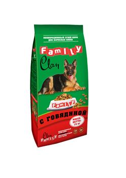Clan Family - Cухой корм для собак всех пород (говядина) - фото 8340