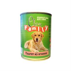 Clan Family - Консервы для собак (паштет из ягнёнка) №47 - фото 8351