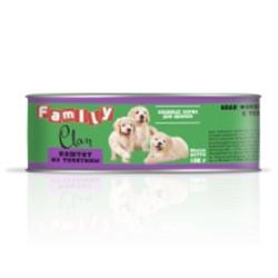 Clan Family - Консервы для щенков (паштет из телятины) №48 - фото 8352