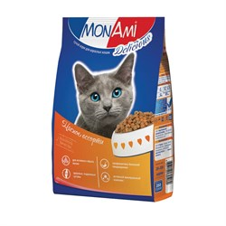 MonAmi - Сухой корм для кошек (мясное ассорти) - фото 8376