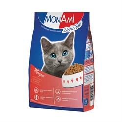 MonAmi - Сухой корм для кошек (с мясом говядины) - фото 8377