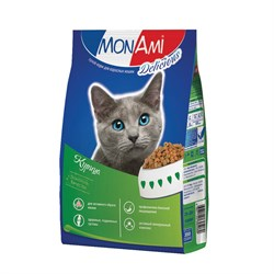 MonAmi - Сухой корм для кошек (с мясом курицы) - фото 8378