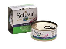 Schesir - Консервы для щенков (цыплёнок с алое) - фото 8461