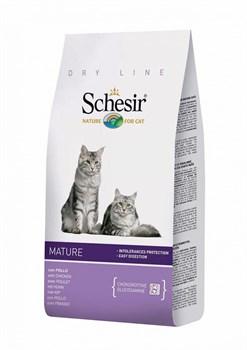 Schesir - Сухой корм для пожилых кошек - фото 8471