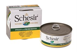 Schesir - Консервы для собак (цыплёнок с ветчиной) - фото 8492