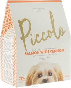 Piccolo - Сухой корм для собак мелких пород (лосось c олениной) - фото 8505