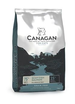 Canagan - Сухой корм для кошек и котят (с лососем) GF Scottish Salmon - фото 8512