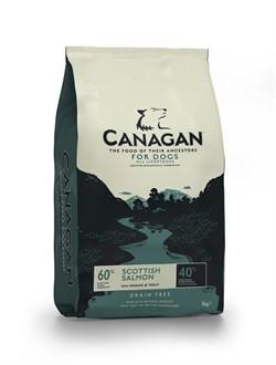 Canagan - Сухой корм для собак и щенков всех пород (с лососем) GF Scottish Salmon - фото 8517