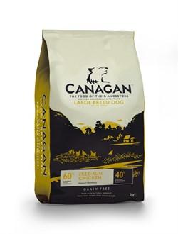 Canagan - Сухой корм для собак крупных пород (с цыпленком) GF Free-Run Chicken - фото 8520