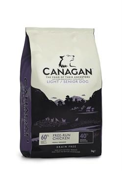 Canagan - Сухой корм для собак с избыточным весом и пожилого возраста (с цыпленком) GF Light/Senior - фото 8523